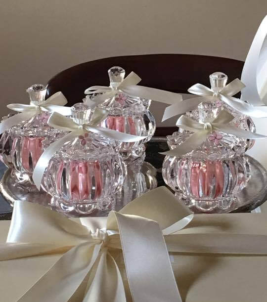 Pink Almond Jar – Bonbonniere
