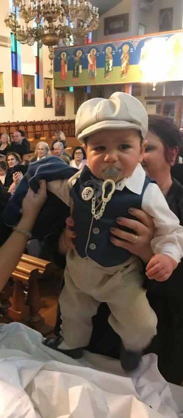 Italian Linen - Denim Vest with Chalk Piping and School Boy Pants with Bowlers Hat and Bow Tie