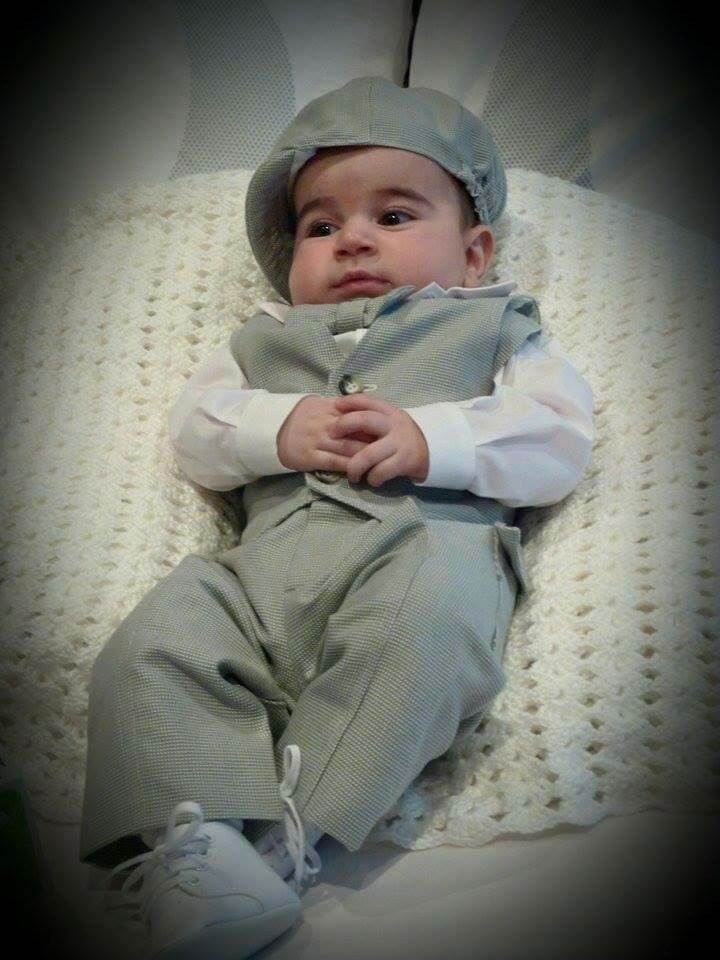 Tweed Fabric School Boy Pants and Vest