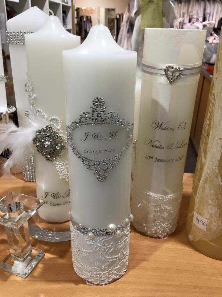 Catholic Wedding Unity Candles