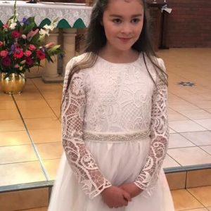 First Communion Gowns & Accessories