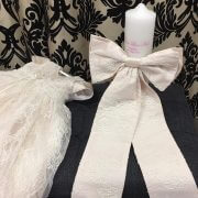 Catholic Candles – Matching Lace to Dress