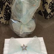 Personalised Cardboard Square Box – Orthodox Candle – Star