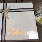 Personalised Cardboard Square Box (c)