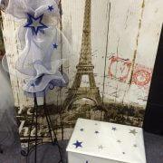 Personalised Rectangular Timber Toy Box – Orthodox Candle – Stars