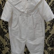 Sailor Romper with White Trim