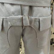 Tweed Fabric School Boy Pants