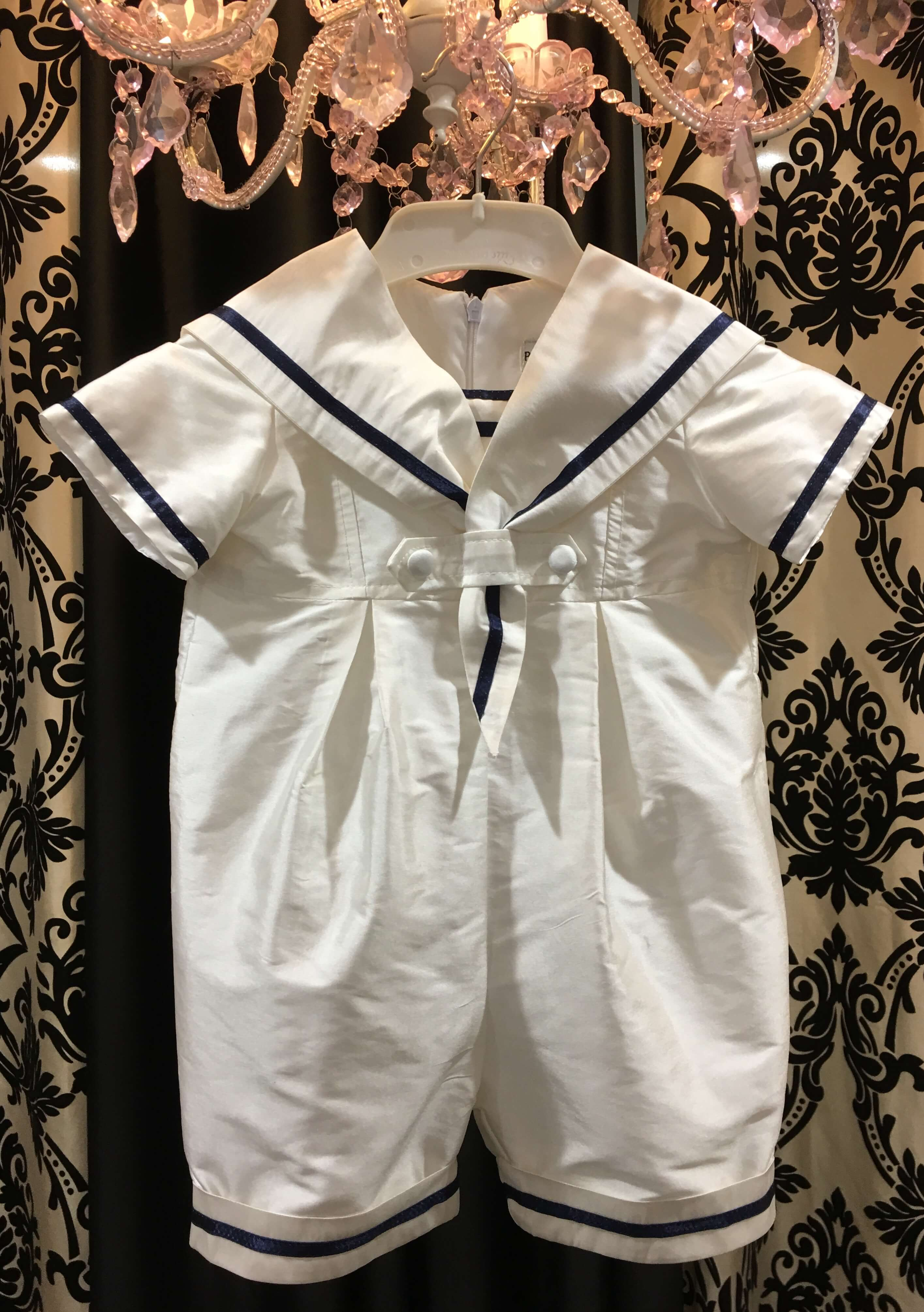 Sailor Short Romper