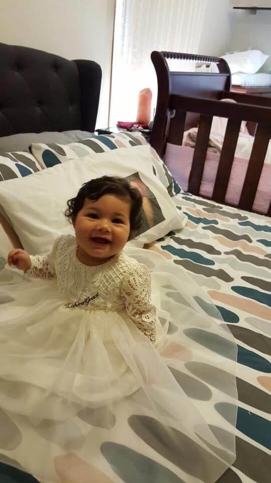 Amelia Guipure Lace Chiffon Dress