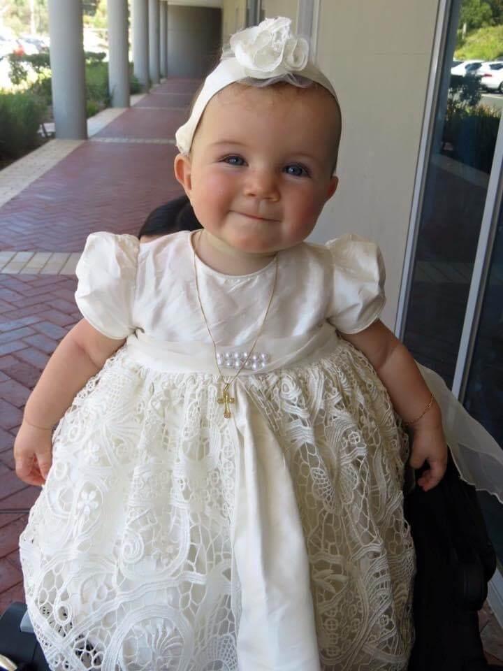 Amelia Guipure Lace Lily Dress