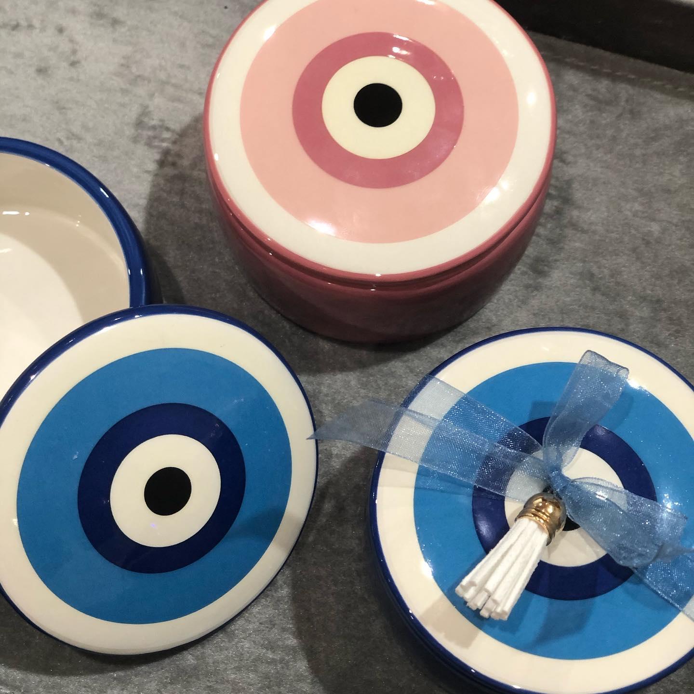 Blue & Pink Eye Trinket