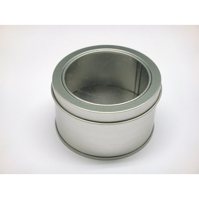 Box Aluminium Display Lid Round