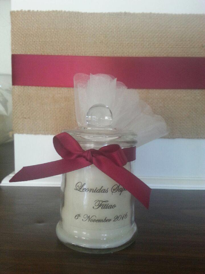 Candle French Jar