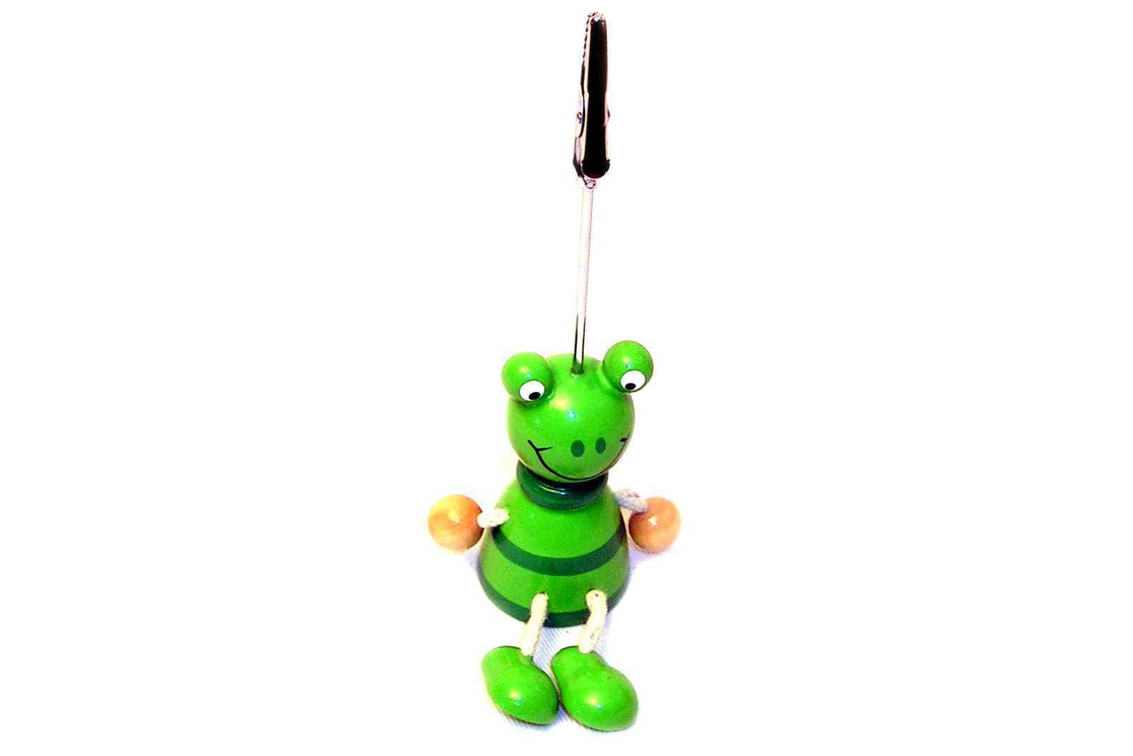 Card Holder Timber Frog