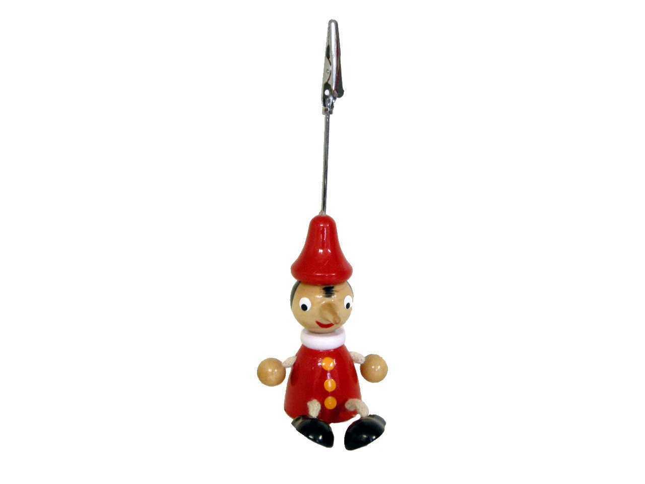 Card Holder Timber Pinocchio