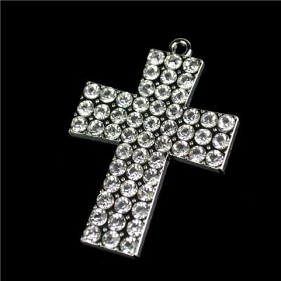 Charm Diamante 4.5cm Cross
