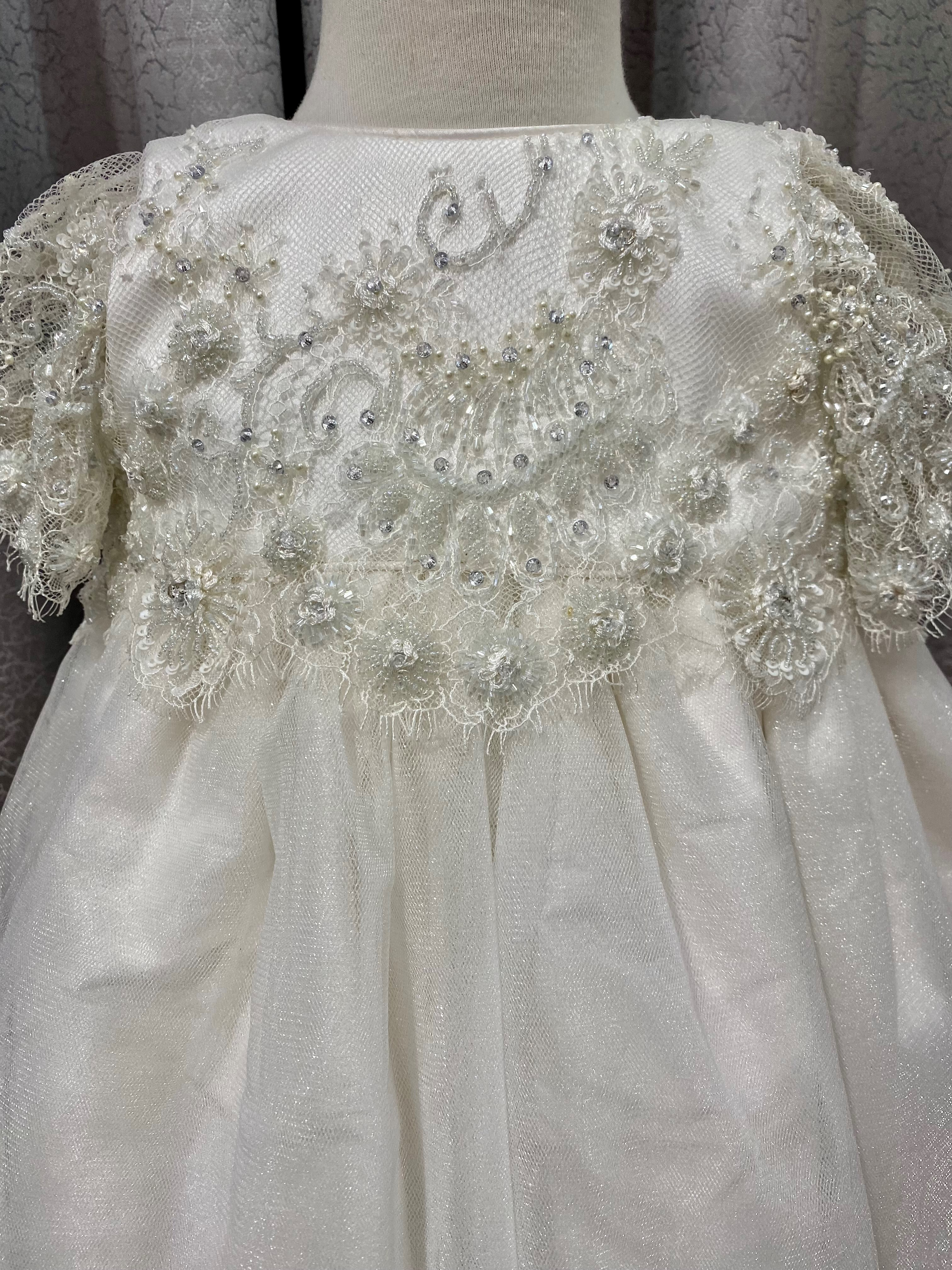 Coco Lace Bodice with Shimmer tulle a
