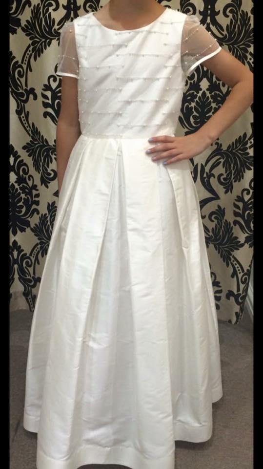 Pearl Box Pleat Dress PP