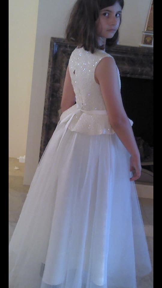 Shimmer Peplum Dress PP