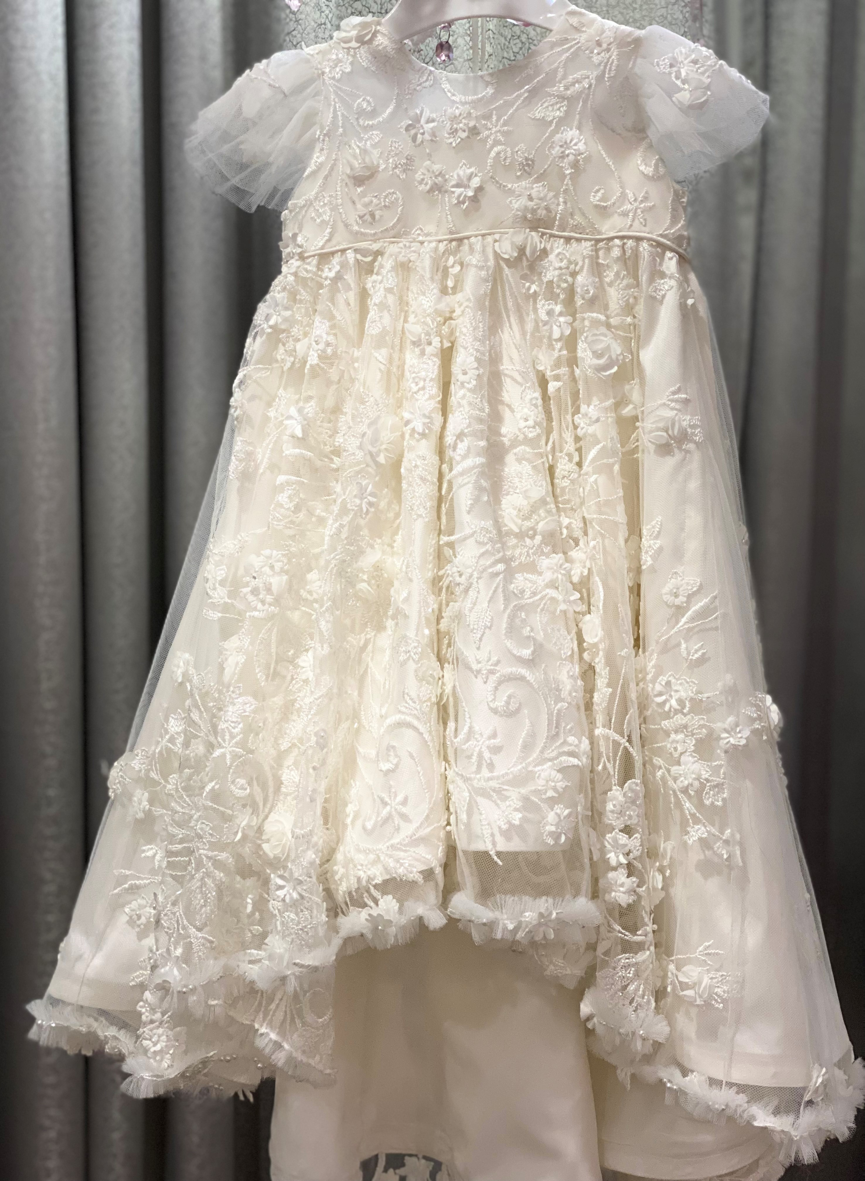 Lux Ariel High Low Gown c