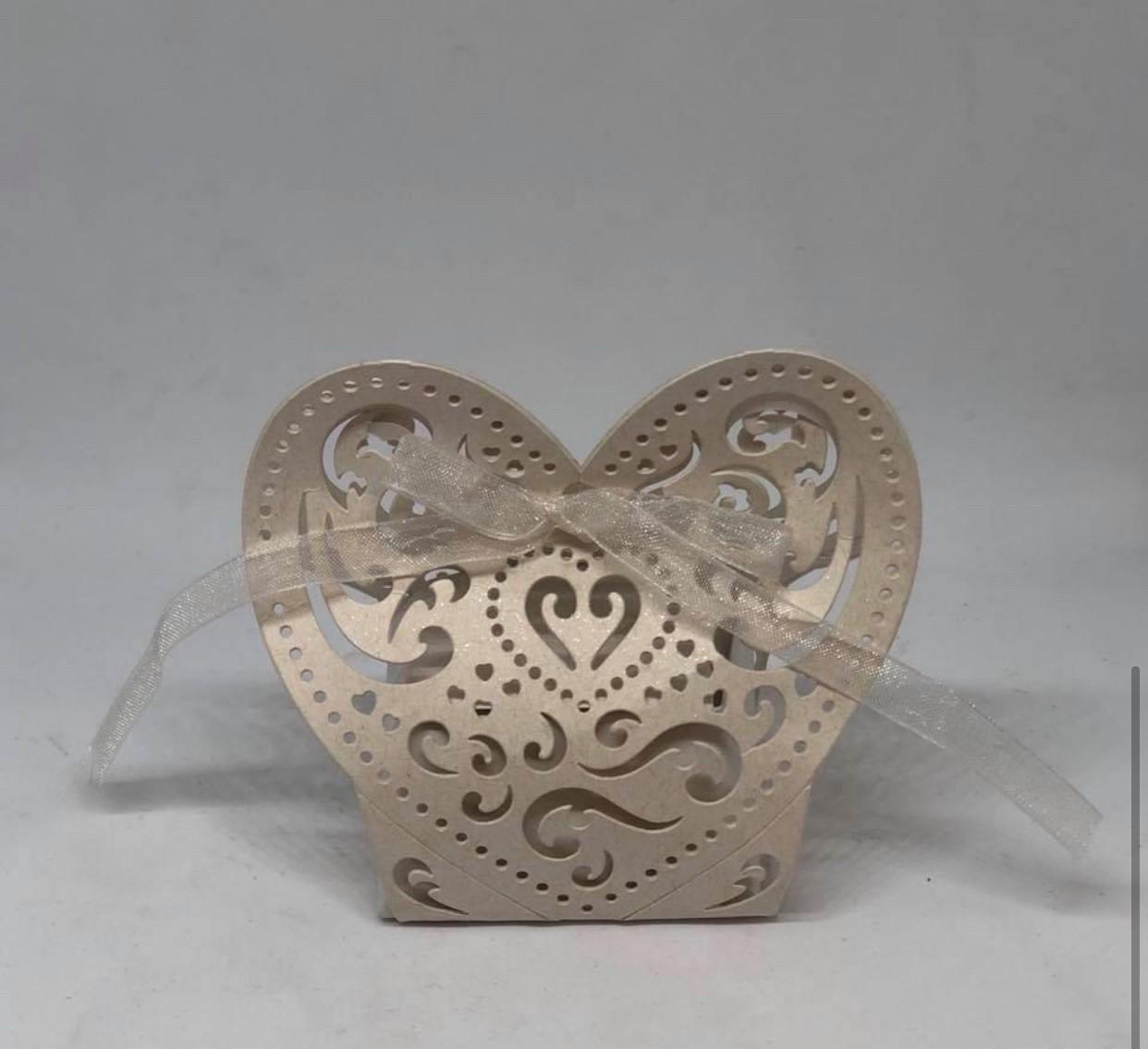 Laser Cut Heart Box