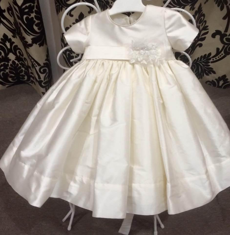Raw Silk Dress