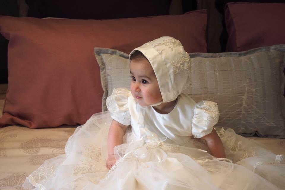 Taylor Lace plain Bodice Dress