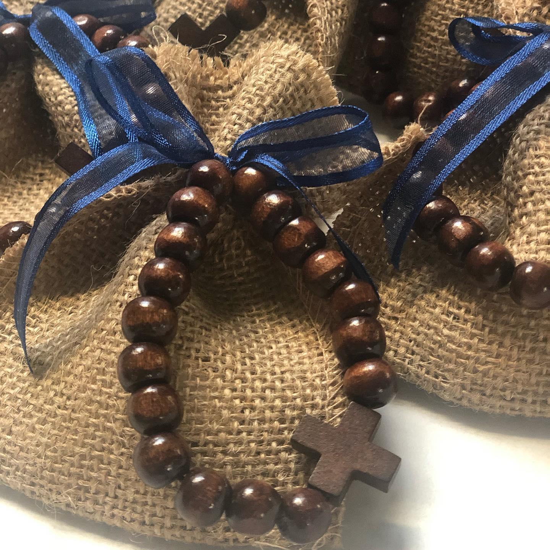 Timber Cross Bracelet