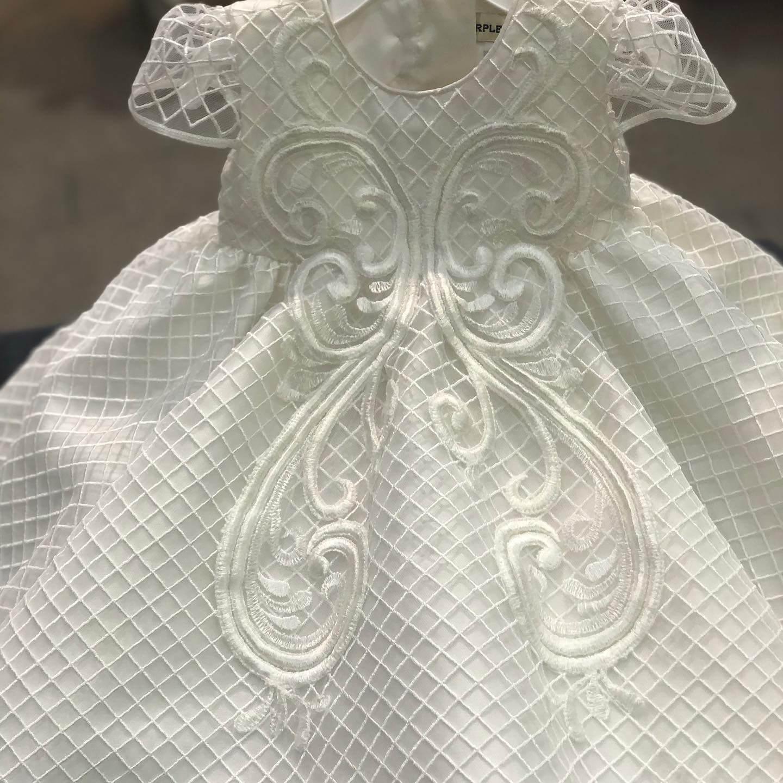 Trellis Motif Dress 1