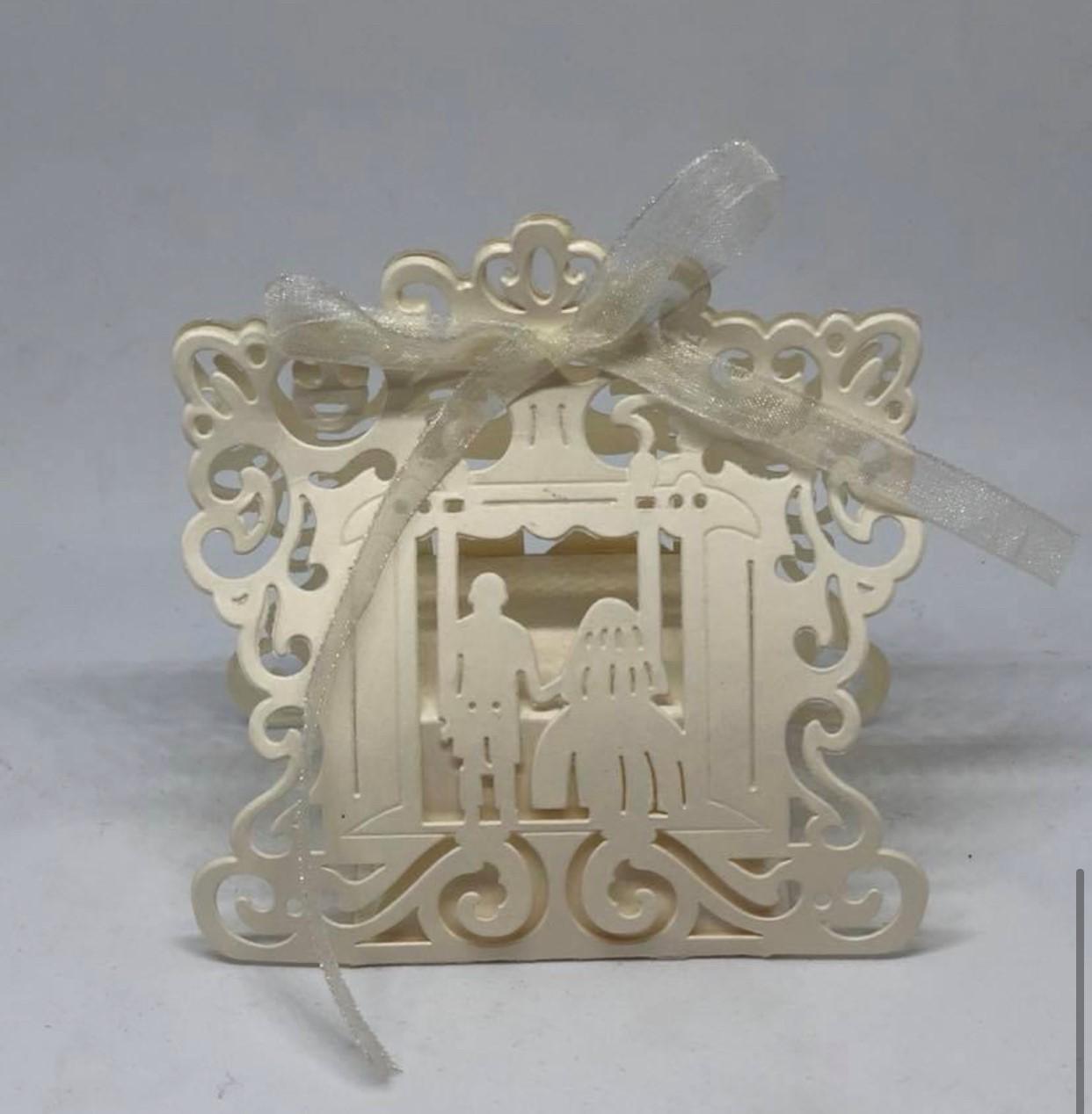 Laser Cut Wedding Box