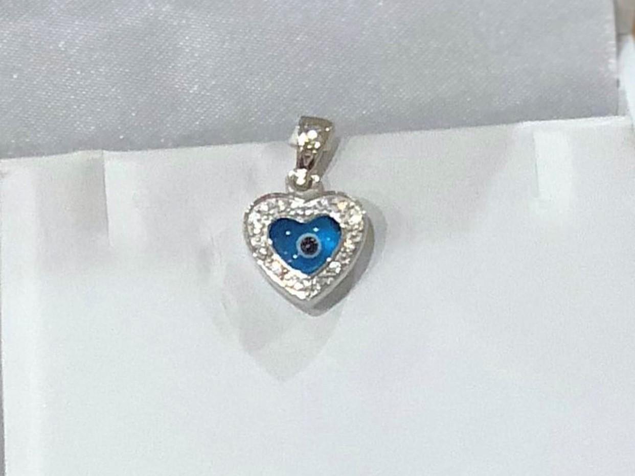 White Eye Heart Eye
