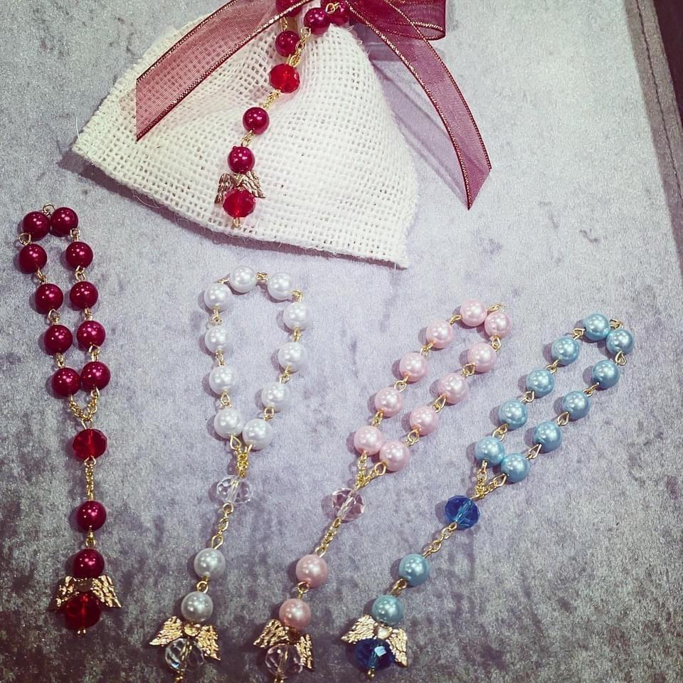 Rosary Angel Bracelets
