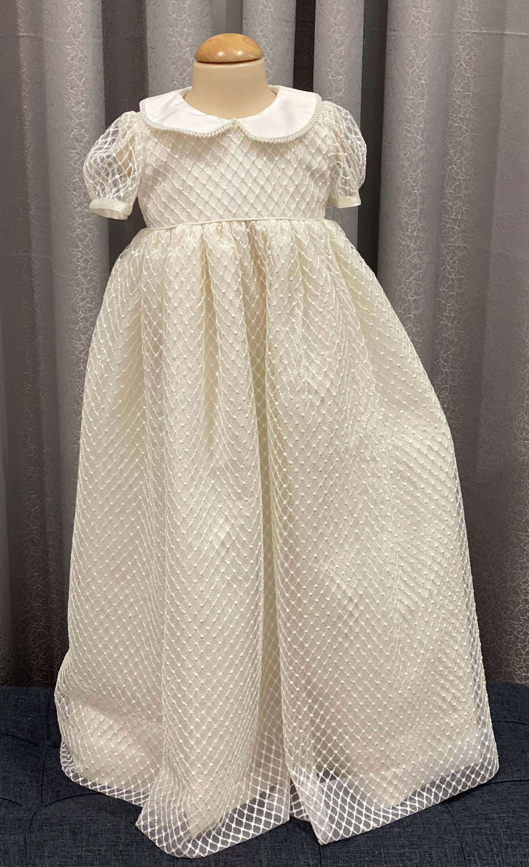 Trellis Pearl Gown