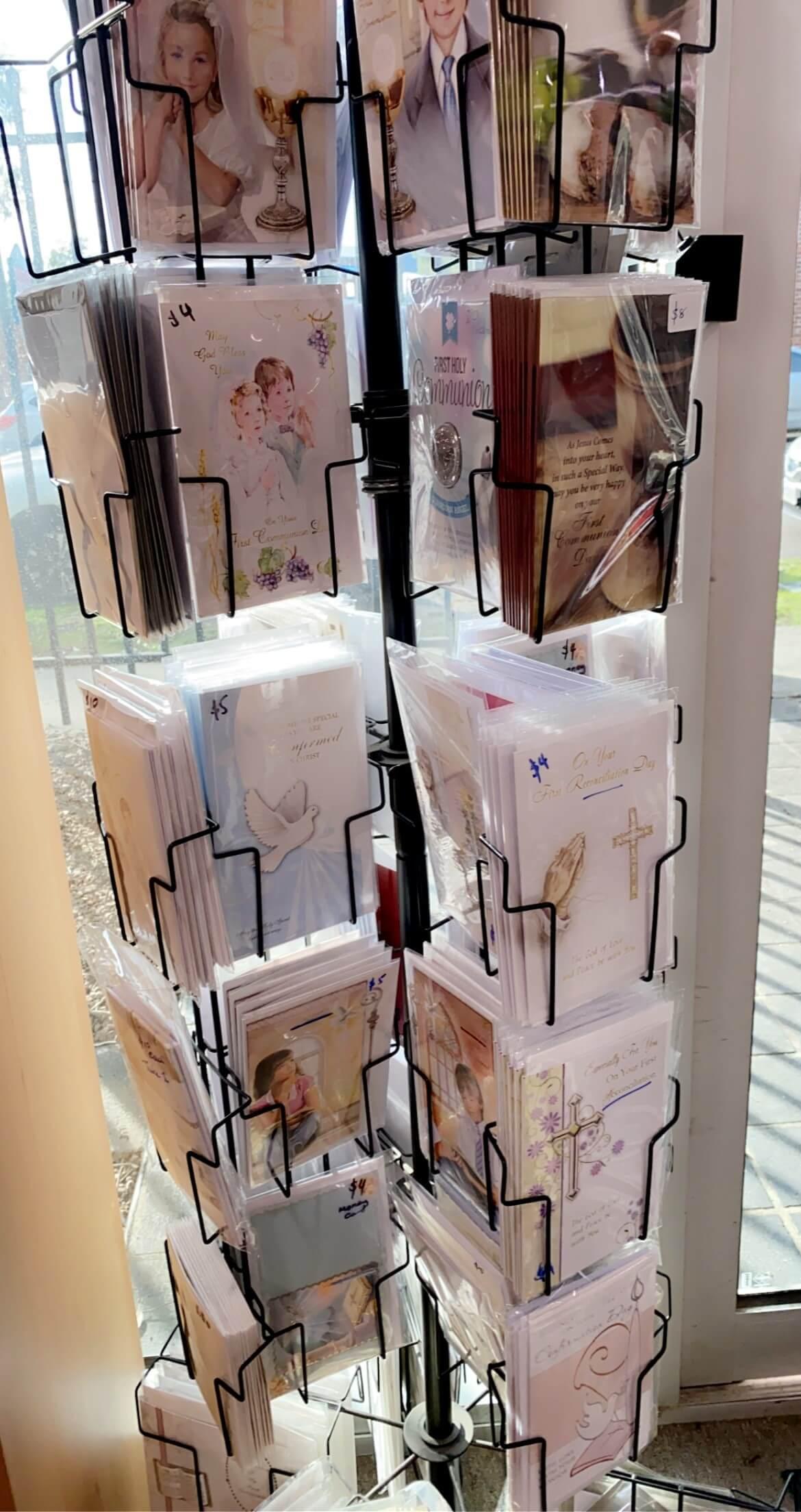 Communion & Confirmation Cards