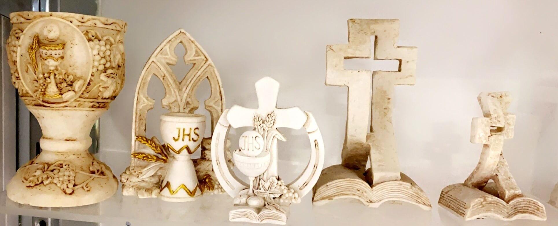 Resin Chalice & Cross