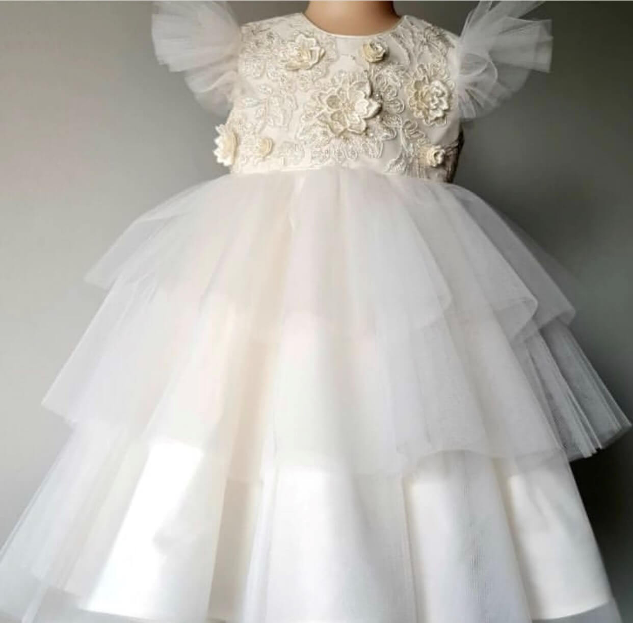 3 Layer Length Tulle Dress PP