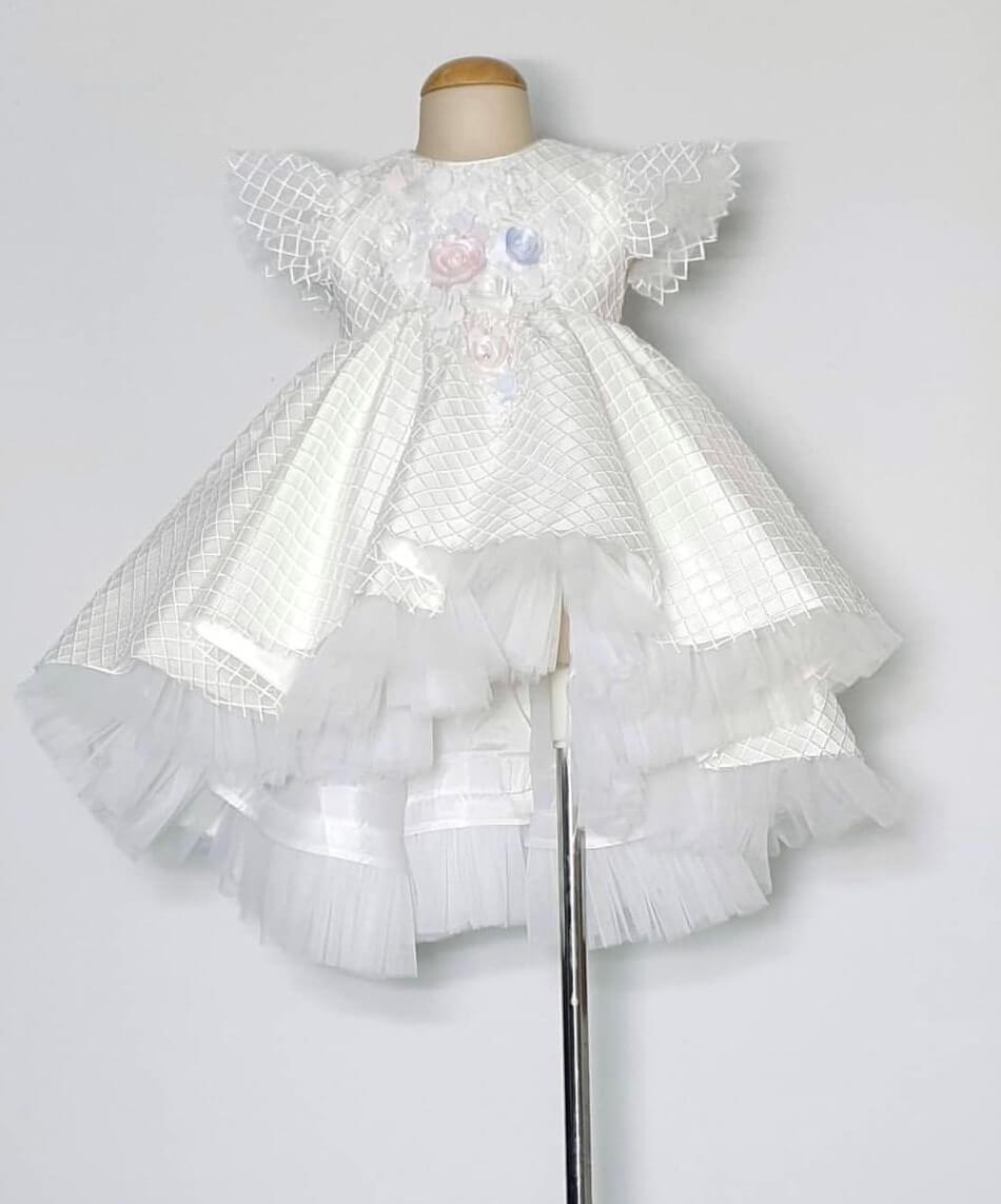 High Low Trellis Dress PP