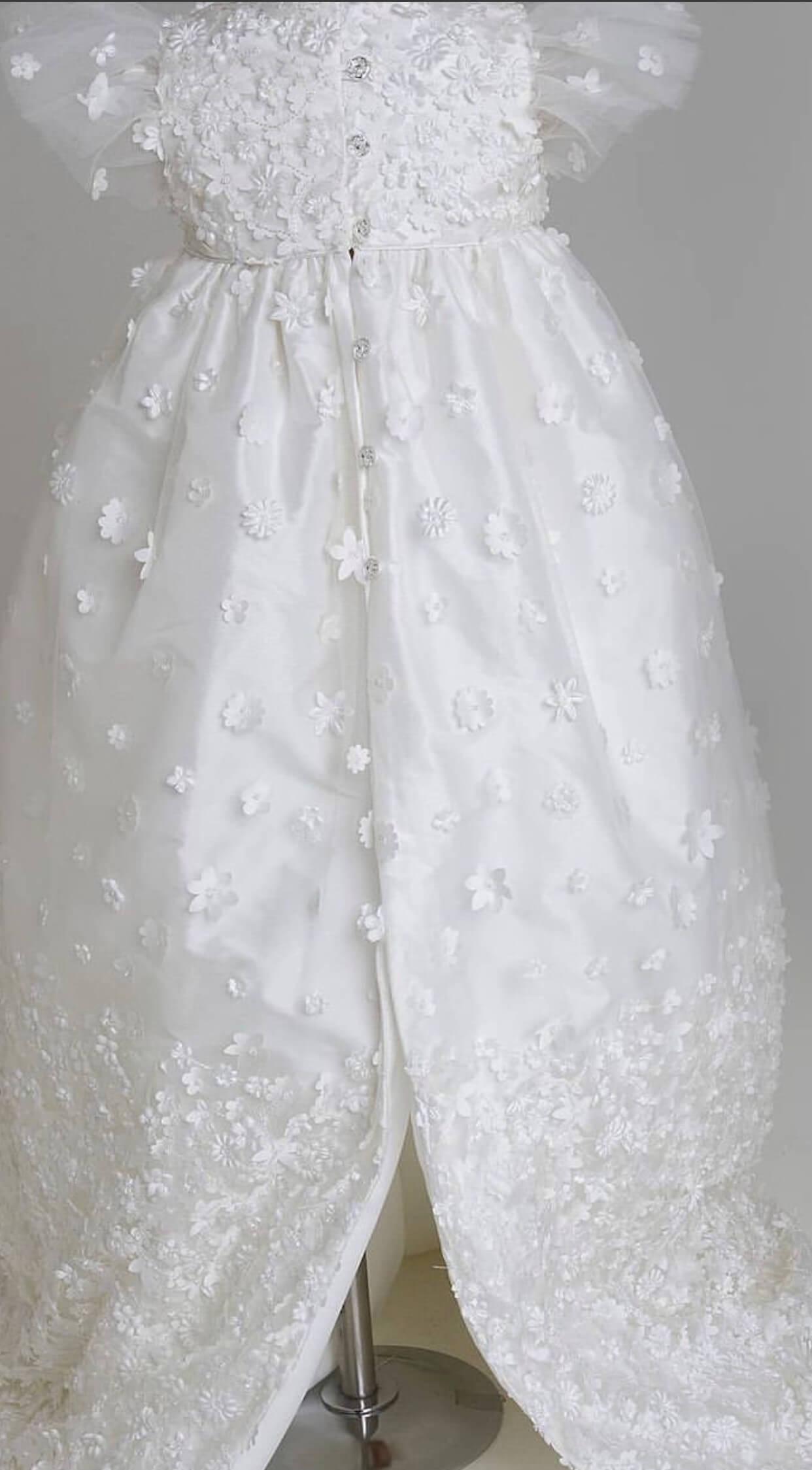Daisy Raw Silk Gown PP