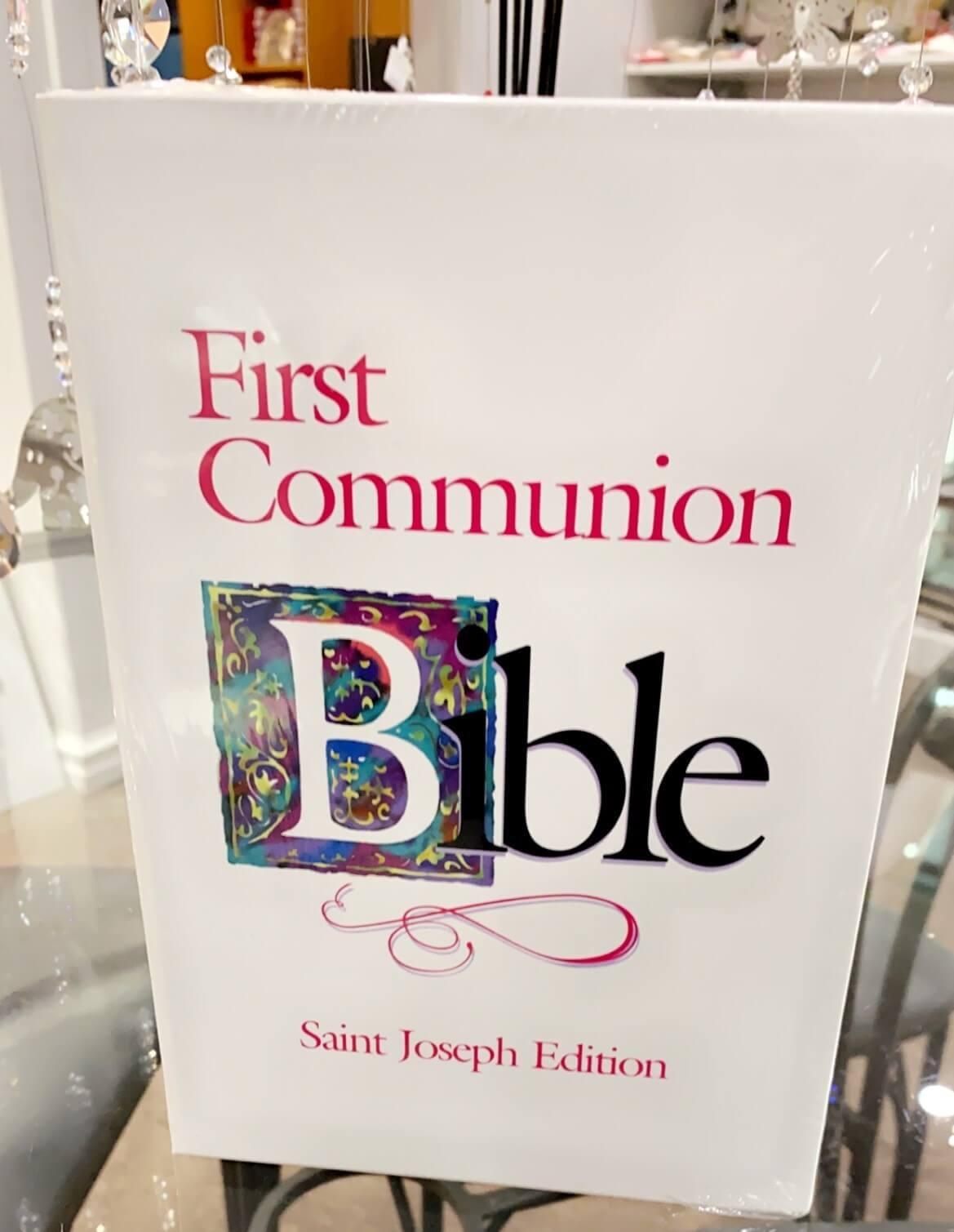 Communion Girl Bible