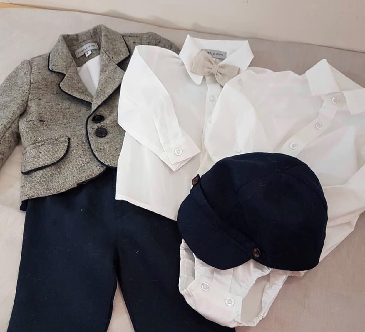 Wool Jacket Linen Mix & Match PP